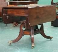 484: Fine early 1800 Sheraton dropleaf table, highgrade