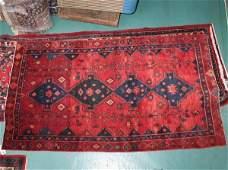 "1142: 1142:Persian handmade rug, 4'7"" x 8'2"", deep"
