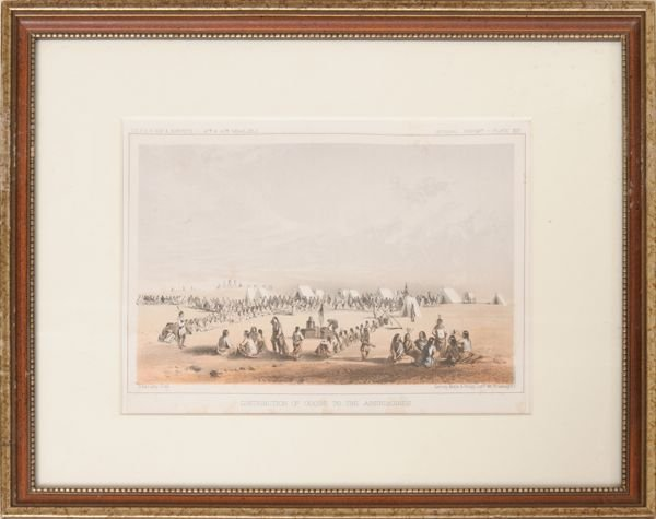 1003: Lot of three 19th century prints, plates from US