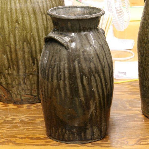 14: Mid 1800 ovoid stoneware jug, South Carolina, possi