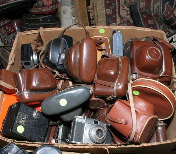 506: Approx. twenty-six Agfa cameras