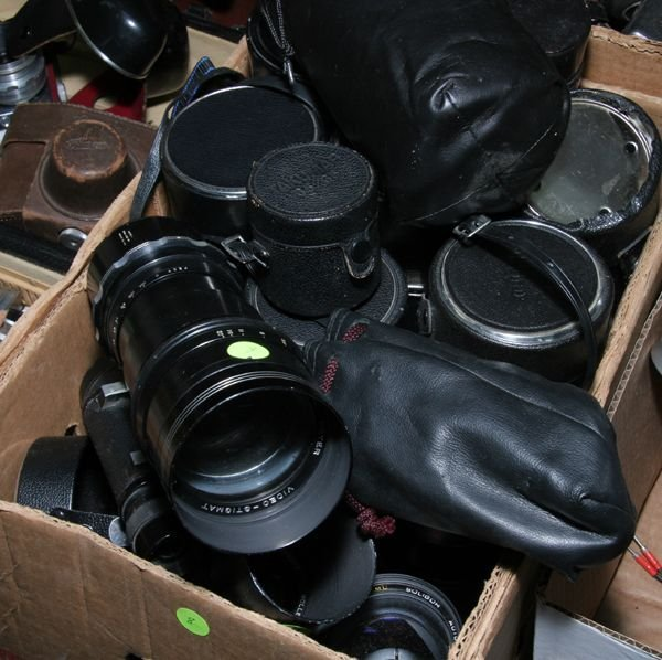 508: Lot of twelve misc. lenses.