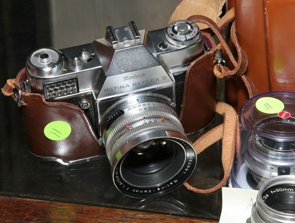 511: 557 Kodak Retina Reflex S, with Schneider Kreuznac