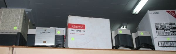 518: Lot of Polaroid items, 1-610 projector, 2-230, 2-2