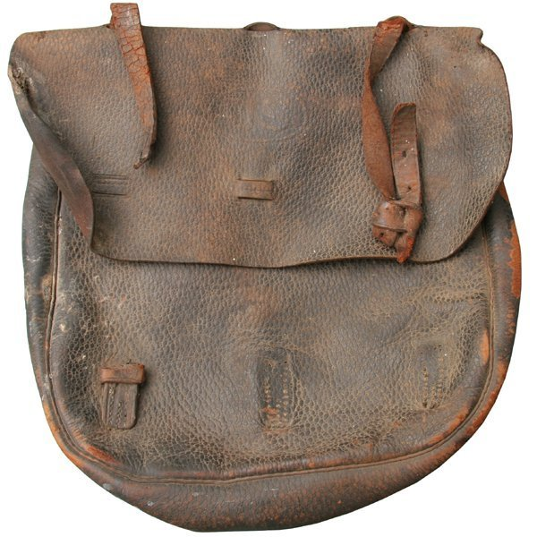 US saddle or dispatch bag, Alabama Civil War veteran