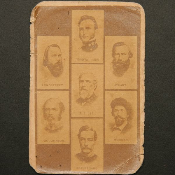 14: Confed officer ID card, Alabama homestead, AL photo