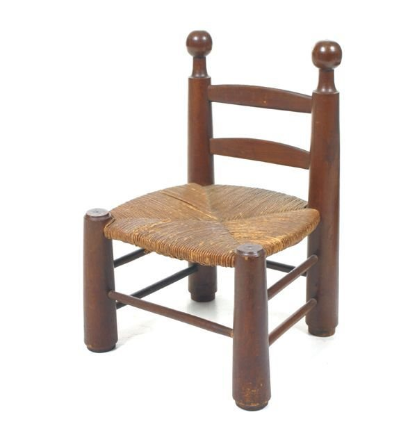 "406: ""Hard to find c. 19th century wagon chair, boldly"