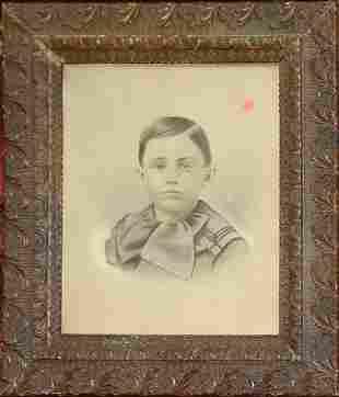 Frame/portrait of boy.