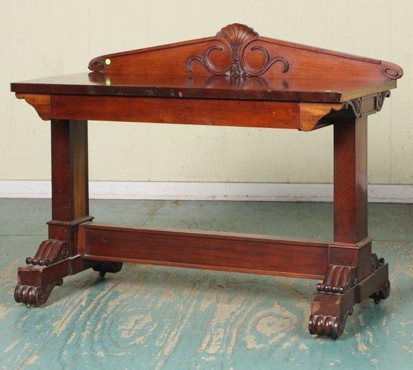 24: Fine early 1800 Federal server, highgrade mahogany,
