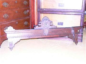 281: Set of three 1870 Renaissance Victorian valances,