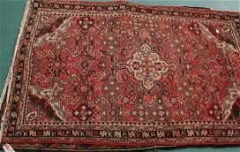 6 43 x 611 Old Persian Hamedan rug rose colors 2