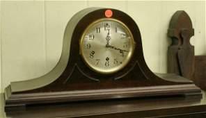 1262: Tambour style mantel clock, Seth Thomas, Westmini