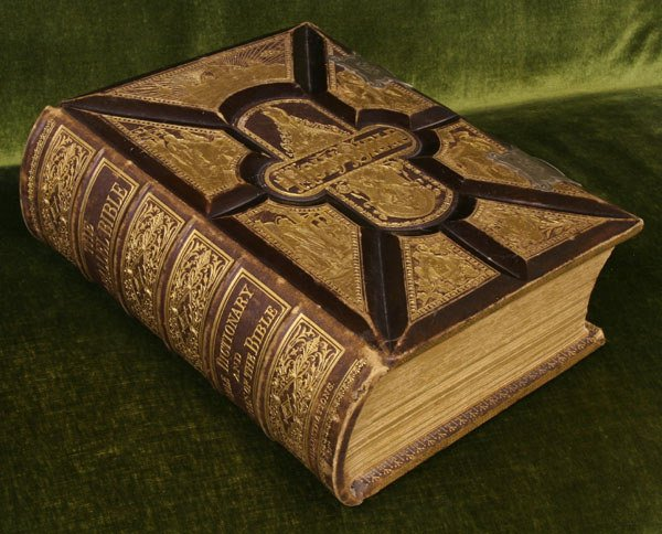 16: Large Bible, George V. Jones, Boston, Mass., 1885,
