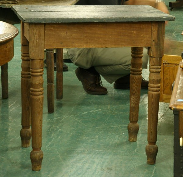 1016: Southern yellow pine work table, possibly Alabama