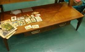 1359: Modern Danish style coffee table, Baker Furniture