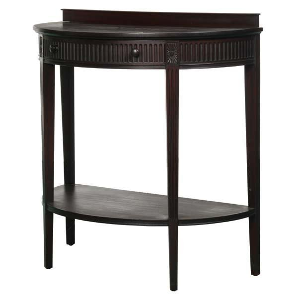 1024: Colonial Revival 1940's Adams style console and m