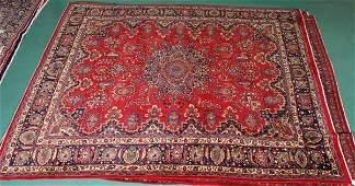 308 Old Persian Sarouk rug 10 x 12 rugs blues ta