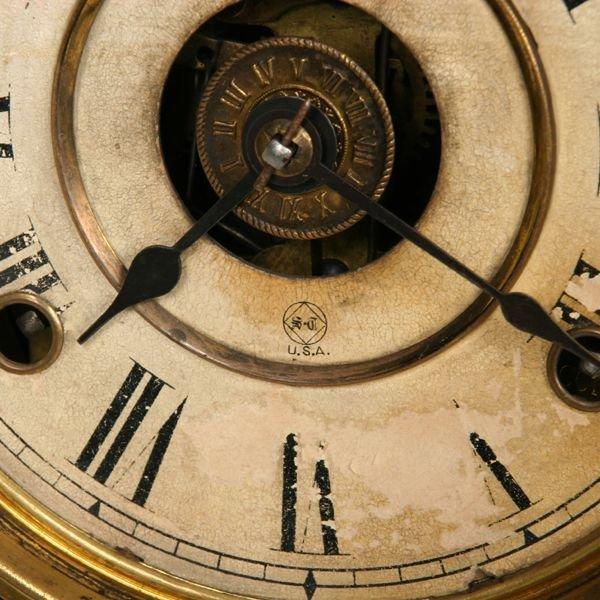 1007: Late 1800's Victorian mantle clock, Seth Thomas,  - 2