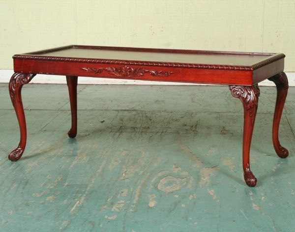 Mid 1900 Chippendale style coffee table Zangerle