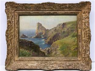 Leonard Frank Skeats 1874-1943 Oil Painting