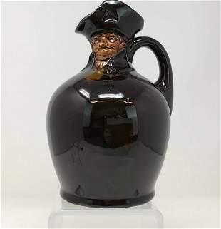 Royal Doulton Kingsware Nightwatchman Flask