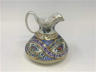Samson France Hard Paste Porcelain Jug c. 1870