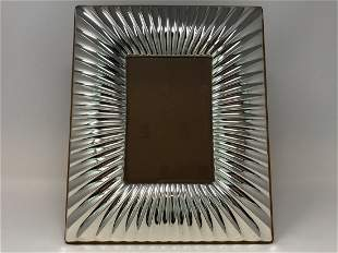 Birk 925 Silver Picture Frame Florence Italy