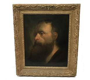 "Old Master Johann Baptist de Ruel 1634-1685 ""Eldermann"""