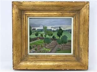 Marc Aurel Fortin 1888-1970 Vue du Mon Jardin