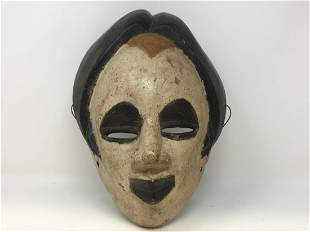 African Ibo mask from Nigeria