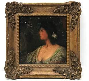 Joseph Edward Homerville Hague Lady Portrait