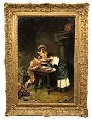 Casimiro Tomba Aldini Painting The Reckoning