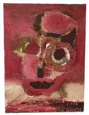 Harold Klunder Portrait Painting