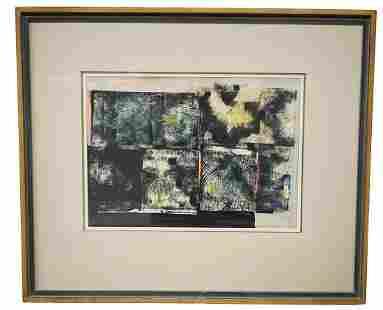 Fritz Brandtner Abstract Ink