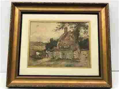 Myles Birket Foster 1825-1899 Watercolor