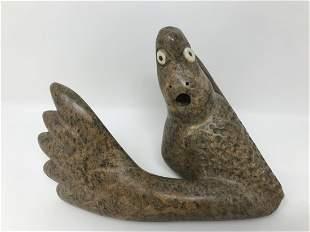 Inuit Eskimo Soapstone Carving Transformation