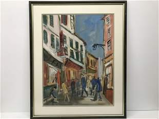 Roland Dubuc 1924-1998 Rue Anime