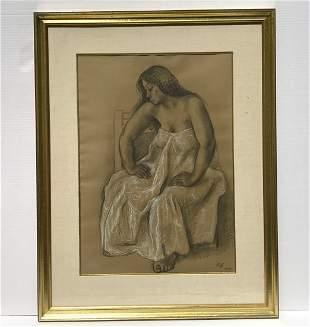 Francisco Zuniga 1912-1998 Studio de Nudo