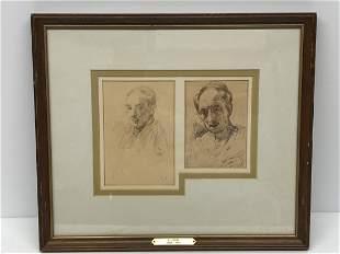 Robert Pilot 1898-1967 Portraits