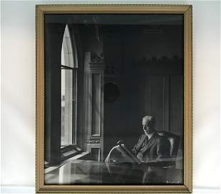 Jousuf Karsh 1908-2002 Portrait of J.S. Woodsworth