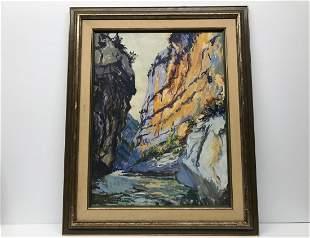 Emile Othon Friesz 1879-1949 Riviere de Montagne