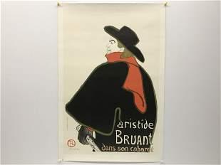 Henri de Toulouse Lautrec 1864-1901 Aristide Bruant