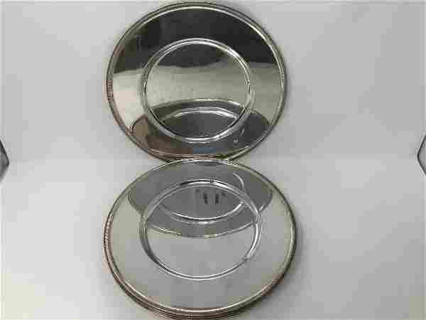 Christofle Malmaison 4 Silver Plated Charger