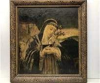 Sainte Catherine of Siena Italian Renaissance Painting