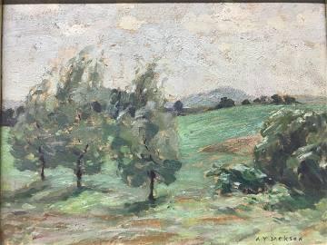 Alexander Young Jackson 1882-1974 Landscape Painting