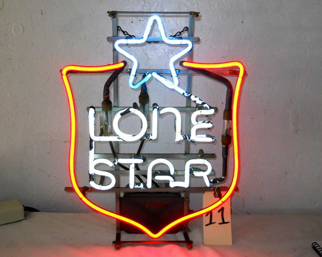 LONE STAR BEER Neon Sign