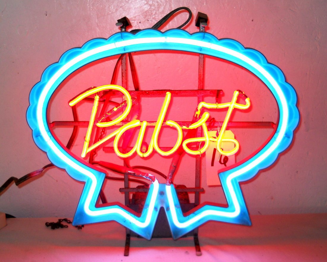 PABST BEER Neon Sign