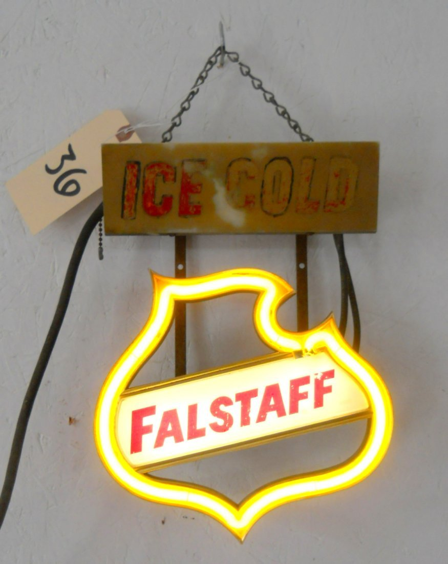 FALSTAFF BEER Neon Sign