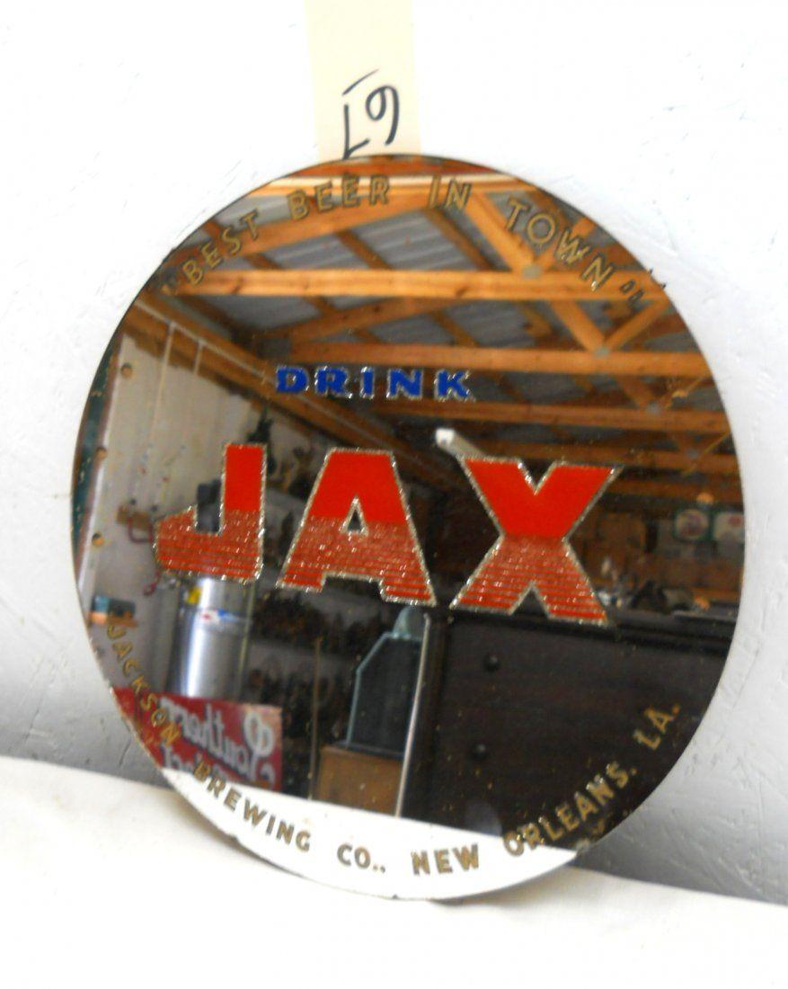 Jax Beer Wall Mirror Nov 15 2014 George L Vaught In Texas