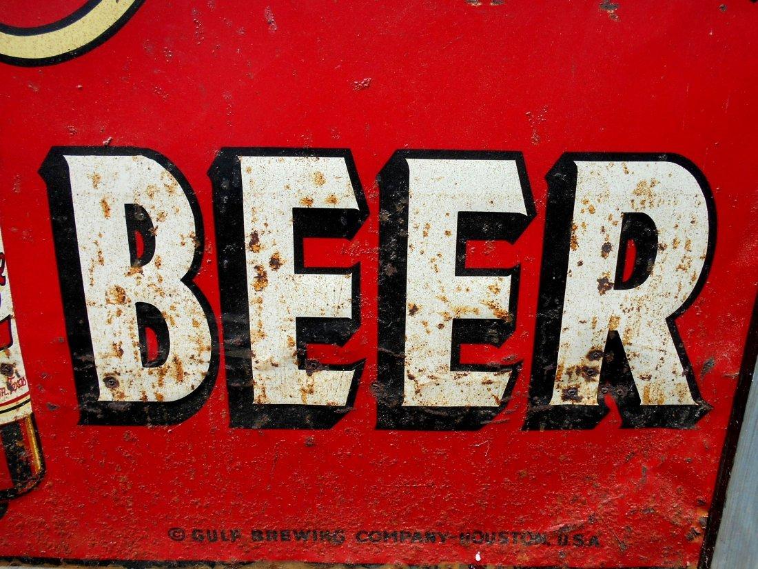 GRAND PRIZE BEER Enameled Sign - 5